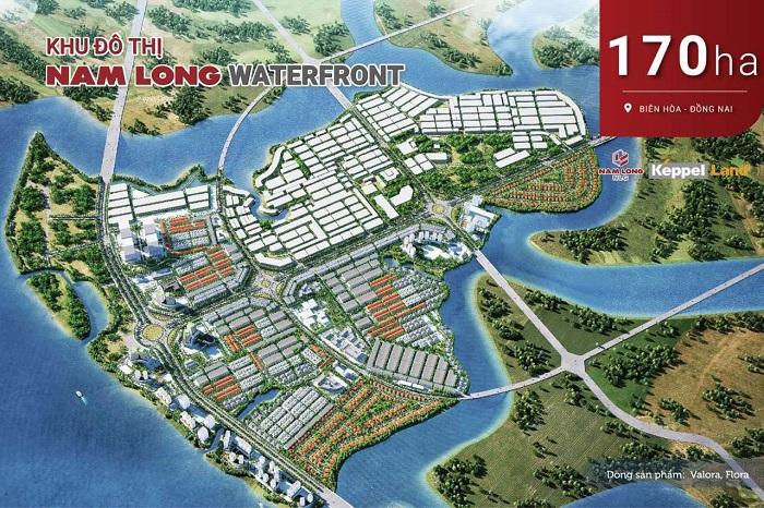 Tổng quam dự án Nam Long Waterfront City